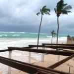 Hurrikan Igor @ Elbow Beach Mickey's Bar