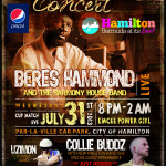 Beres Hammond in Bermuda