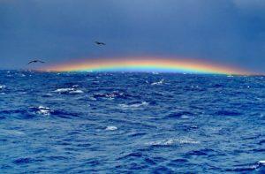 Regenbogen im Bermuda-Dreieck